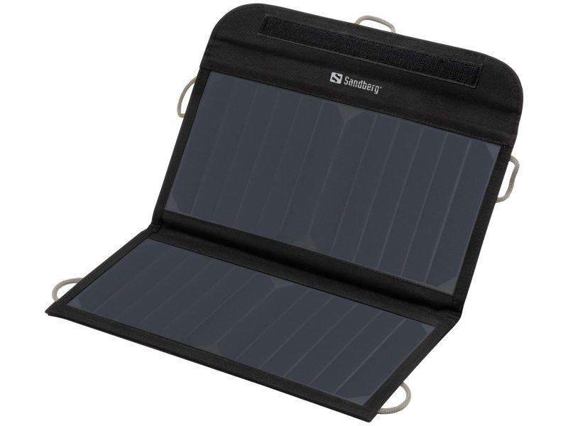 Foldable Solar Charger 13W 2xUSB Solar Panel