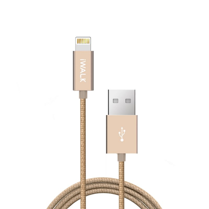 Gold Fast Charging USB to Lightning Cable 2m