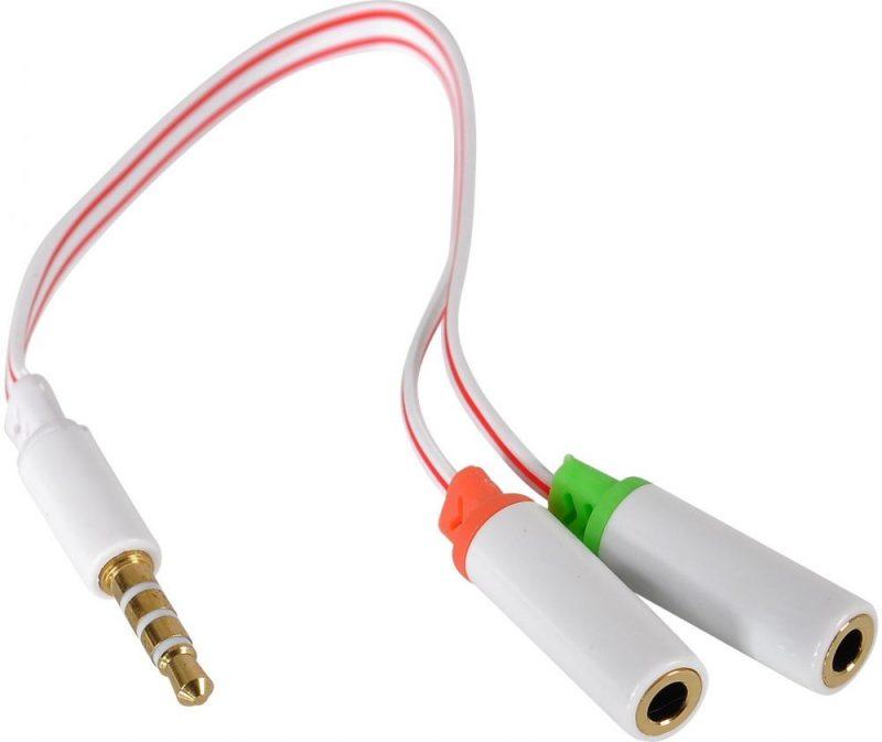 Headset Splitter for Audio, Y Splitter
