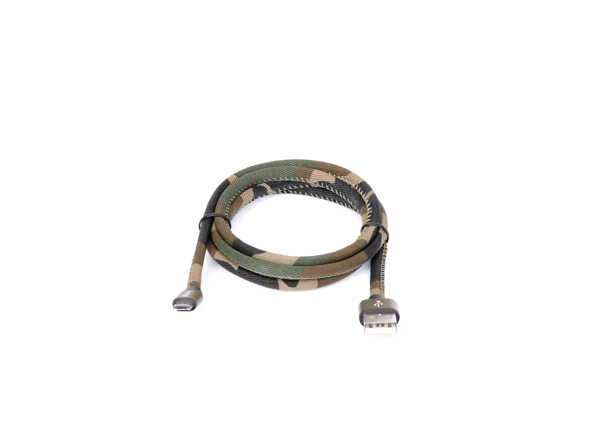 Camouflage Micro-USB Sync and Charge Cable 1m