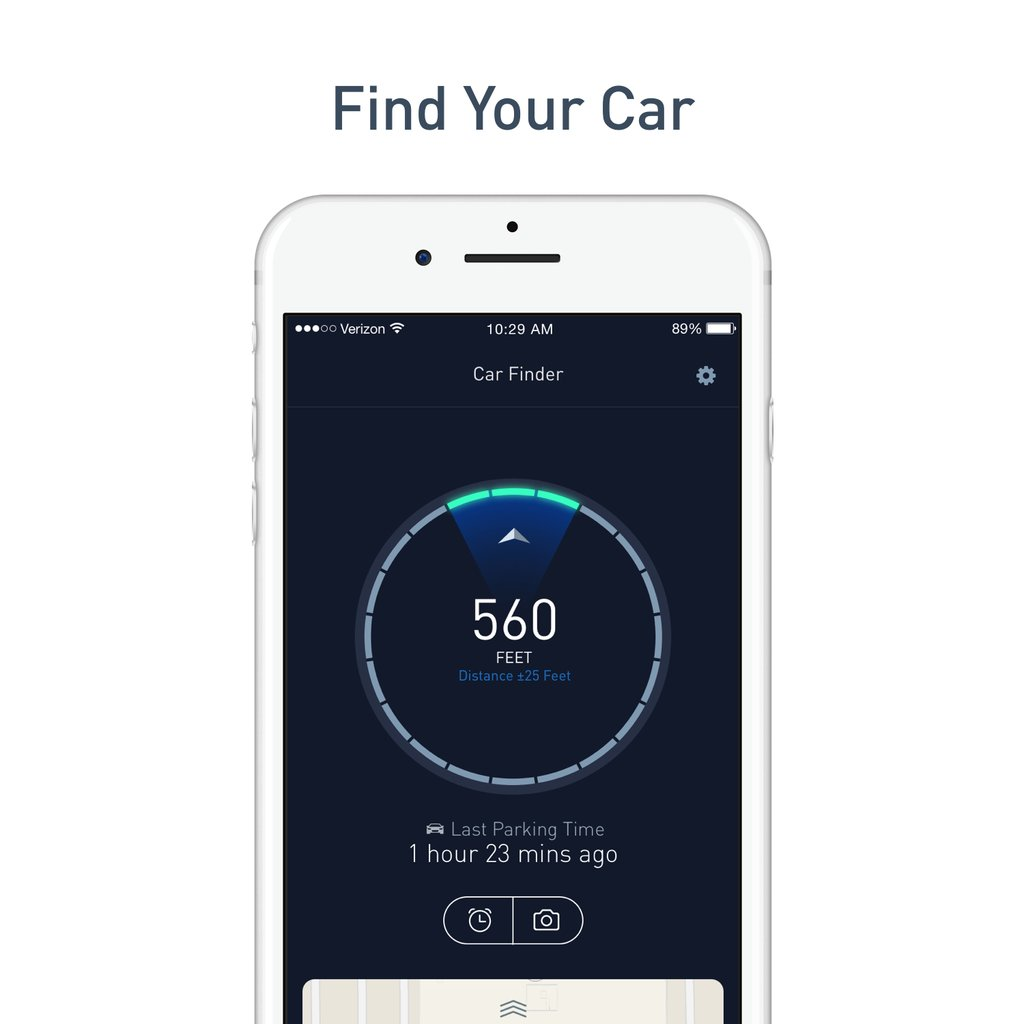 Nonda ZUS Smart Car Charger and Car Finder