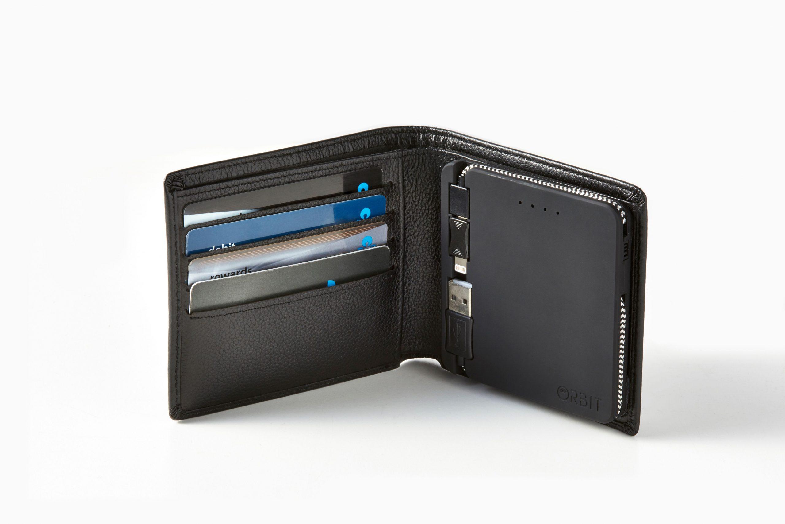ORBIT Wallet with Powerbank