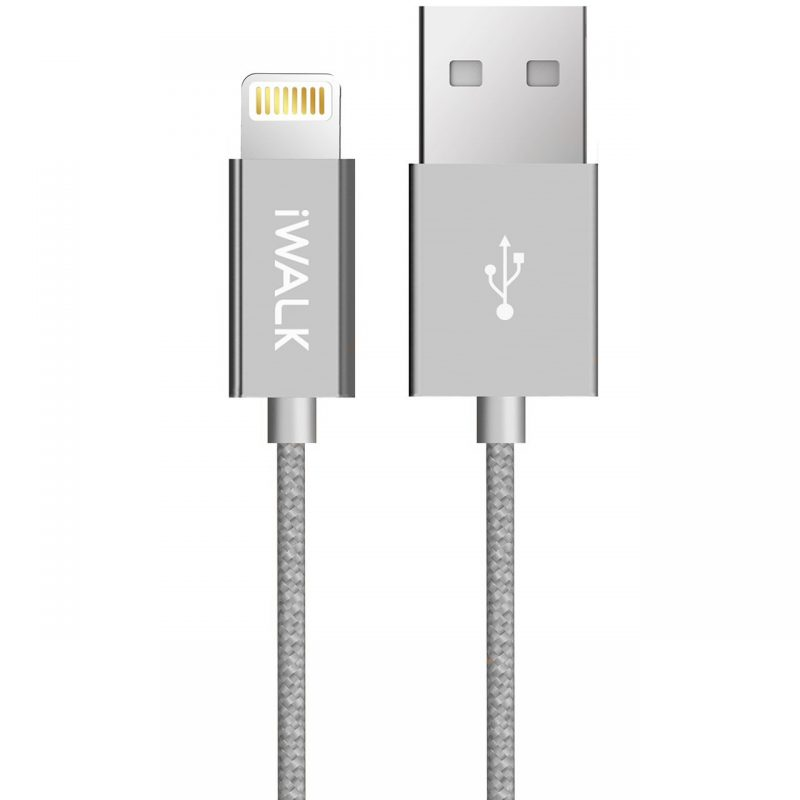 MFi certified sync & charge lightning to USB cable for Apple devices