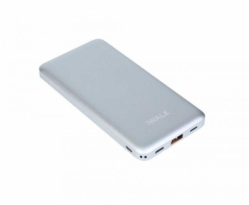 Silver Type-C Powerbank 10000mAh
