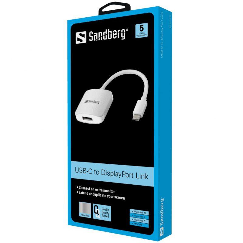 USB-C to DisplayPort Adapter Packaging