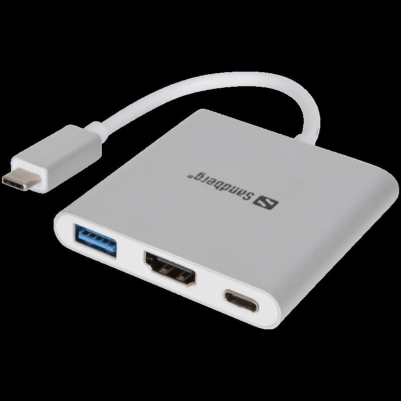 USB-C Mini Dock HDMI+USB