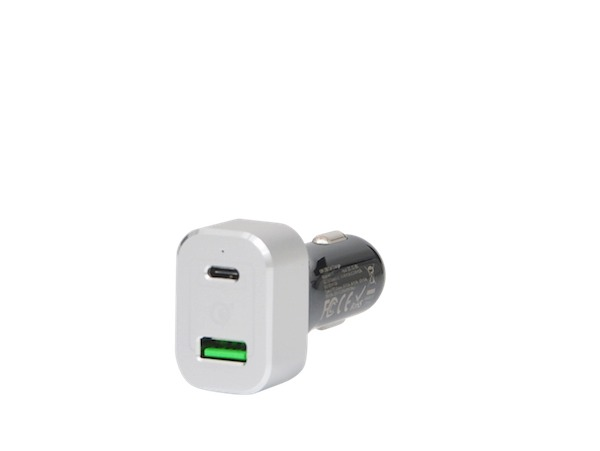 USB-C and QC 3.0 Car Charger