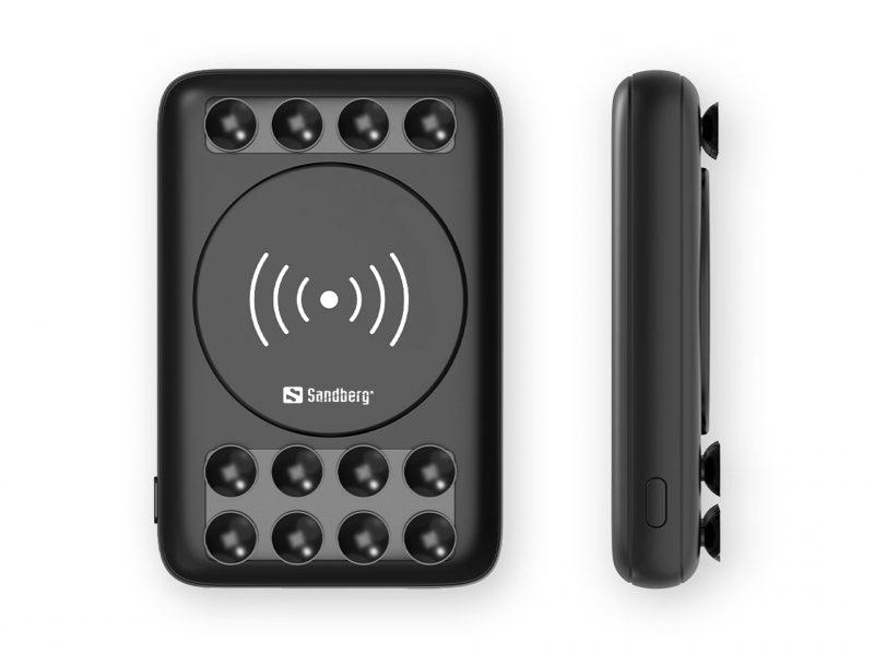 Wireless Powerbank USB-C and QC 3.0 USB Ports
