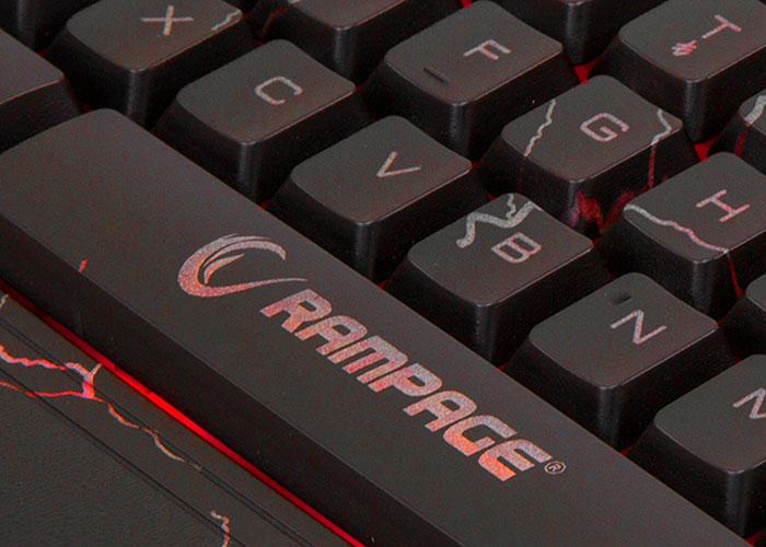 Everest Rampage KB-R45 CRASH Backlit Gaming Keyboard