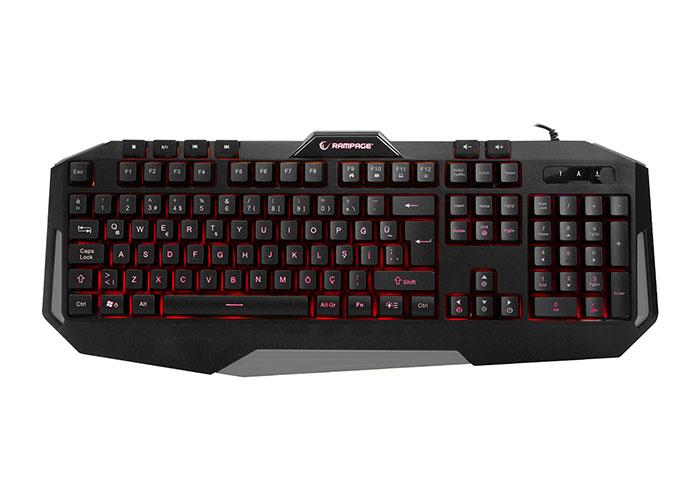 Rampage KB-RX7 ALPOR Illuminated Gaming Keyboard