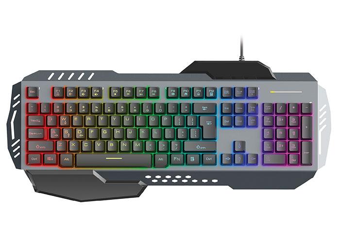 Rampage KB-R79 Rainbow Illuminated Multimedia Keyboard