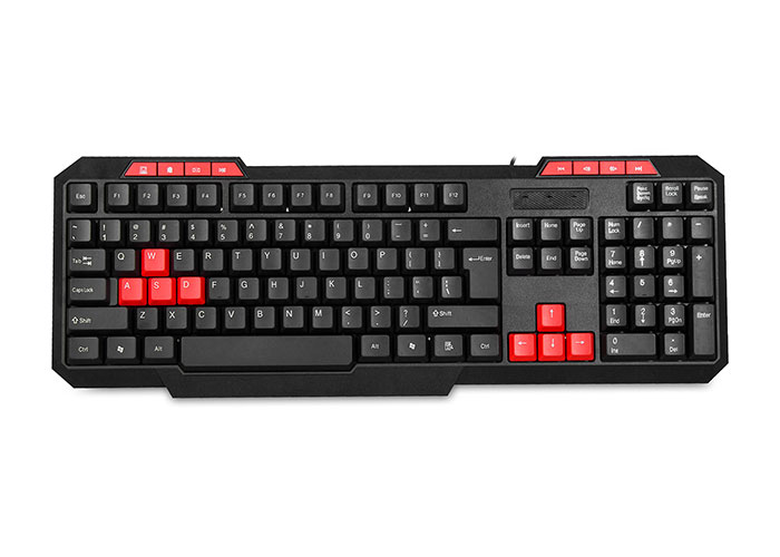 Everest Rampage KB-700 USB Multimedia Keyboard